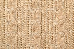 Knit woolen texture Stock Photos