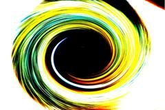 Abstract Black Hole Stock Illustration