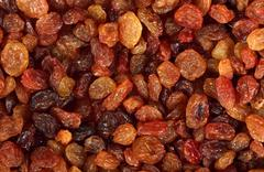raisin background - stock photo