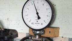 Manometer - stock footage
