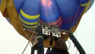 Stock Video Footage of hot-air balloon 13 e