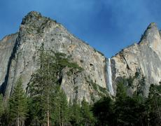 Yosemite Waterfall - stock photo