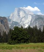 Yosemite Half Dome - stock photo