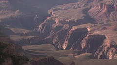 Zoom Out View of the Grand Canyon Stock Footage