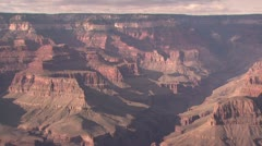 Panoramic View of the Rim Of the Grand Canyon 2 Stock Footage