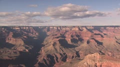 Panoramic View of the Rim Of the Grand Canyon 5 Stock Footage
