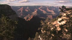 Panoramic View Of the Grand Canyon 2 Stock Footage