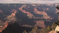 Panoramic View Of the Grand Canyon 3 Stock Footage