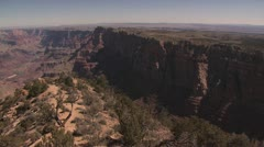 Panoramic View of the Grand Canyon in Arizona 2 Stock Footage