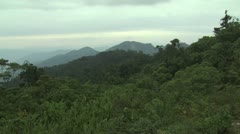 Lush Green Mountain sides of the Amazon Rain Forest 4 - stock footage