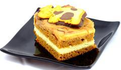 Toffi cake Stock Photos