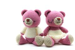 Couples bear doll Stock Photos