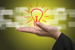 Idea innovation concept Stock Illustration