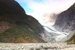 franz josef glacier - stock photo