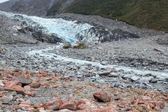 Fox glacier new zealand Stock Photos
