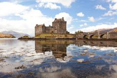 eilean donan castle, highland scotland - stock photo