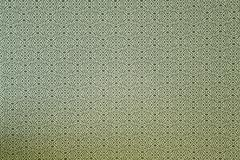 Pattern of green tradition clothing wall paper panel Stock Photos