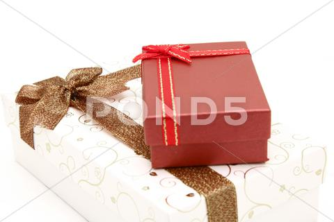 Stock photo of gift boxes