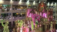 Stock Video Footage of Carnival Dancers On A Float 2