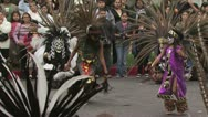 Stock Video Footage of Aztec Dancers