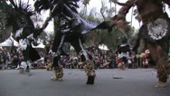 Stock Video Footage of Aztec dancing ritual