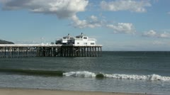 Malibu Pier HD Stock Footage
