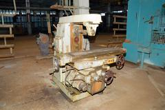the old metalcutting machine tool. - stock photo
