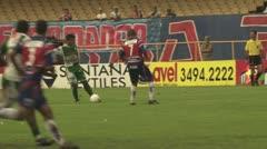 Soccer Game In Brazil - stock footage
