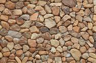 Stock Photo of vintage stone wall