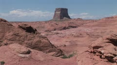 Scenic landscape of the Grand Canyon and Colorado River 2 Stock Footage
