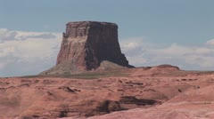Scenic landscape of the Grand Canyon and Colorado River 5 Stock Footage