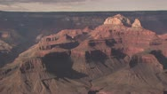 Stock Video Footage of Up View of Grand Canyon Against A Bright Blue Sky