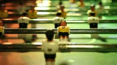 Table soccer / football Stock Footage