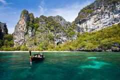 Stock Photo of phi phi island phuket andaman thailand