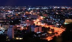 pattaya highway thailand - stock photo