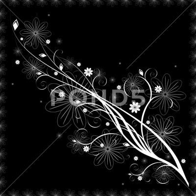 Stock Illustration of flower pattern