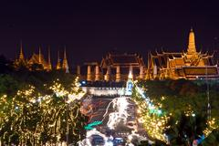thailand grand palace - stock photo