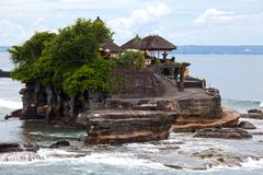 Stock Photo of tanah lot temple