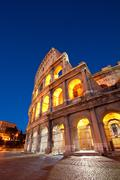 Stock Photo of colosseum rome