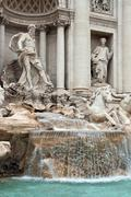Trevi fountain rome Stock Photos