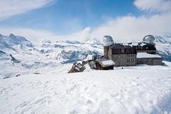 matterhorn peak, zermatt switzerland - stock photo