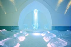 Stock Photo of ice church