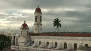 Stock Video Footage of Cienfuegos, overview of the city