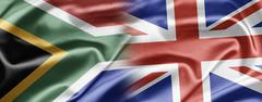 South africa and uk Stock Illustration