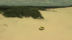 Dune Buggy on the Sand 6 - stock footage