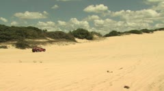 Dune Buggy on the Sand 16 Stock Footage