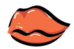 lips - stock illustration