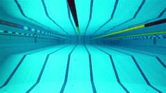 swimming pool - stock footage