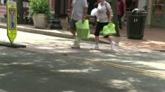 Village street scenes (5 of 11) Stock Footage