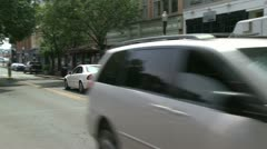 Passing cars (1 of 8) Stock Footage